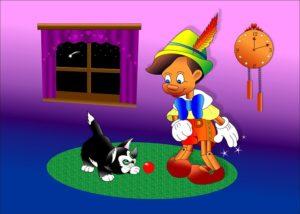 Dywan dla dzieci - Pinokio